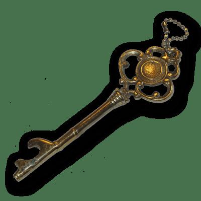 New Website – Ornate key