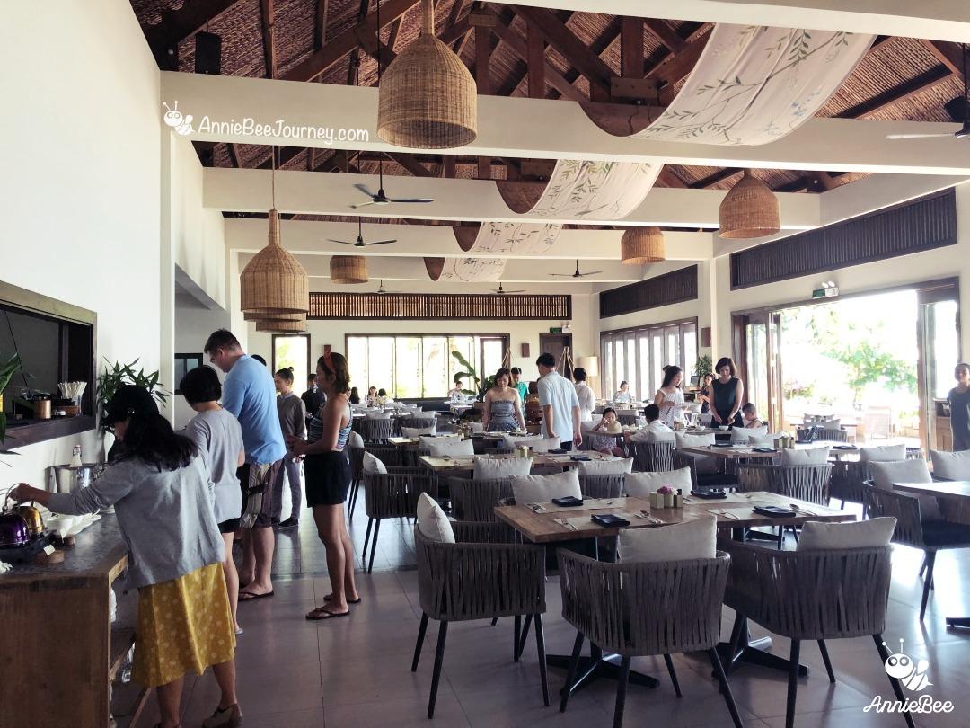 Restaurant at Crown Retreat Quy Nhon, Vietnam