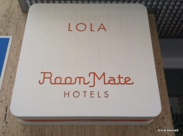 Room Mate Lola sign