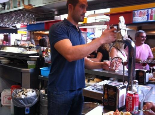 Atarazanas market bar Malaga