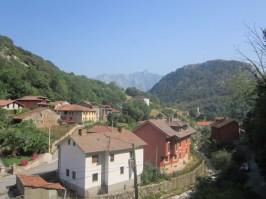 Carreña village houses