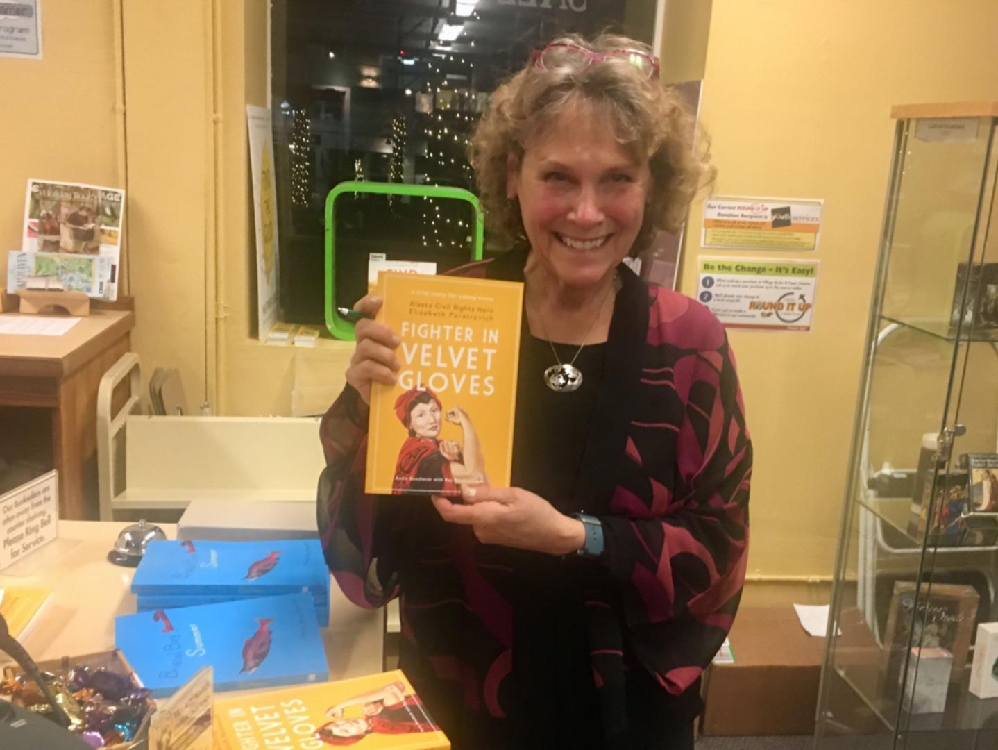 Annie Boochever at Village Books