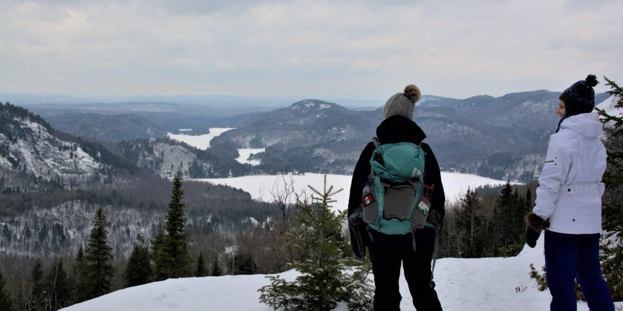 Montagne Verte et week-end au Kayak Café!