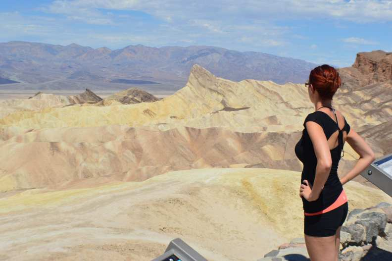 Annie Explore - Zabriskie Point