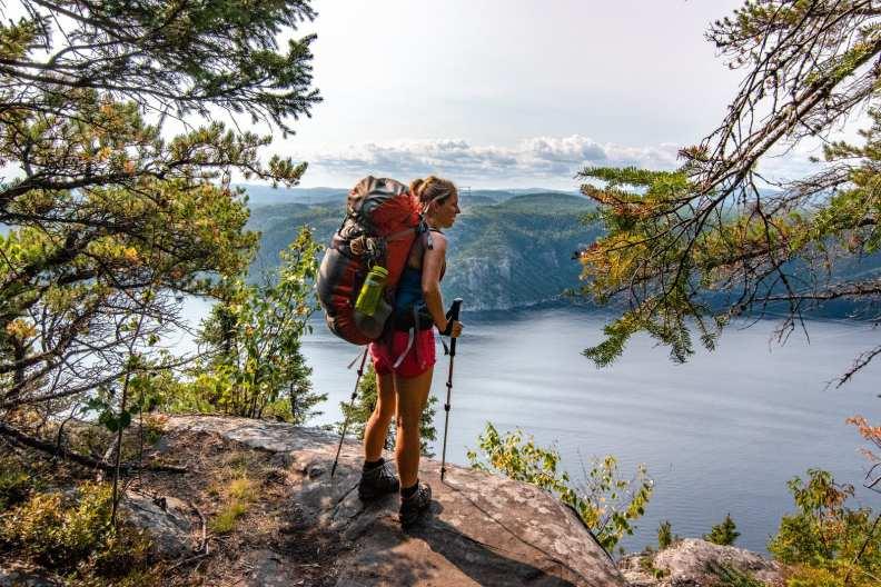Annie Explore - sentier le fjord