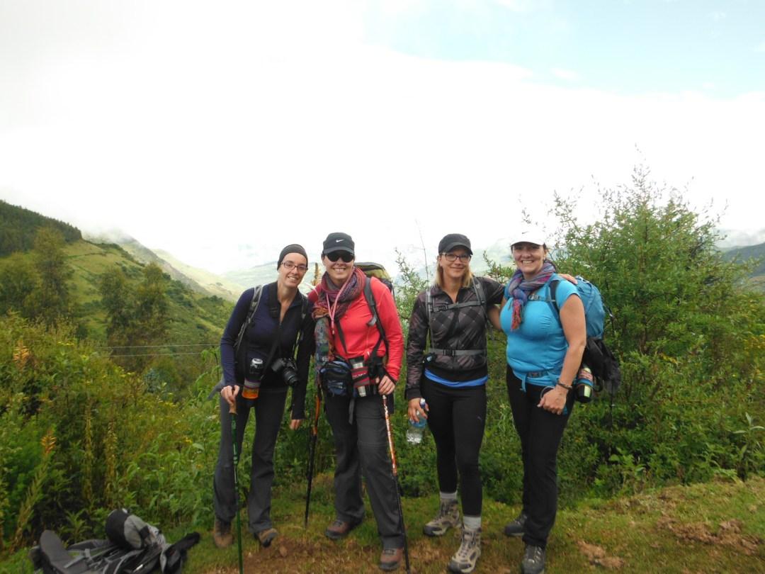 Nos amies Nancy et Jocelyne rencontrées au Canyon de Colca