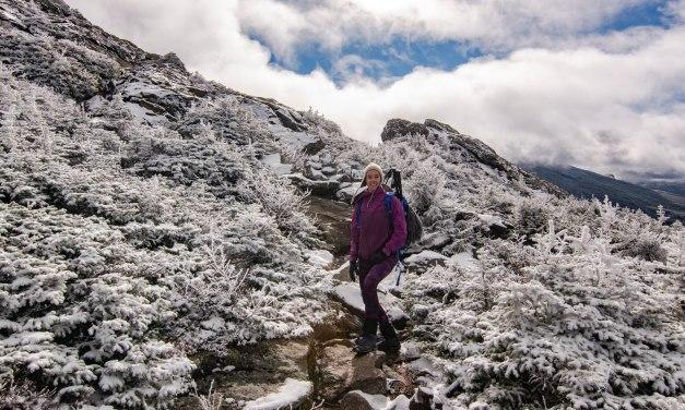 Mont Jefferson automne…hiver!