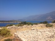 2,000 year old ruins along the Lycian Way.