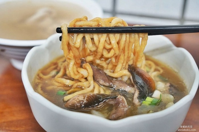 [新莊美食]南台灣鱔魚麵 福壽街文青風麵館  來自府城的家鄉味