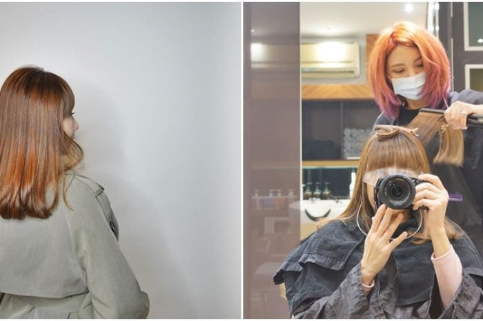 [板橋燙髮推薦 Qdn hair Salon]  拯救自然捲大作戰 超神奇髮質護髮矯正技術 我的變髮紀錄