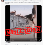 """Misleading: This video does not show Mexican immigrants in """"storage containers"""" in the US; it shows mobile homes at a quarantine site in China"""