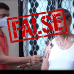 False: COVID-19 vaccines do not make you magnetic