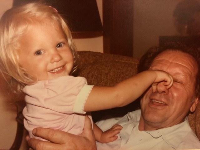 Me and Grandpa 1983
