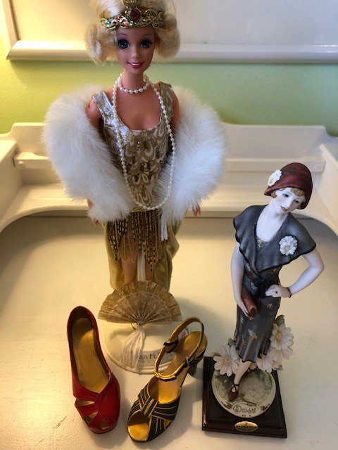 1920s/1930s doll and shoe collection
