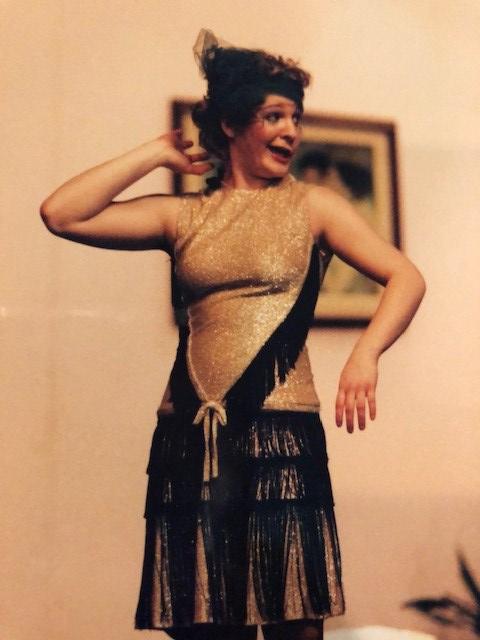 The Boyfriend flapper costume, high school musical 2000