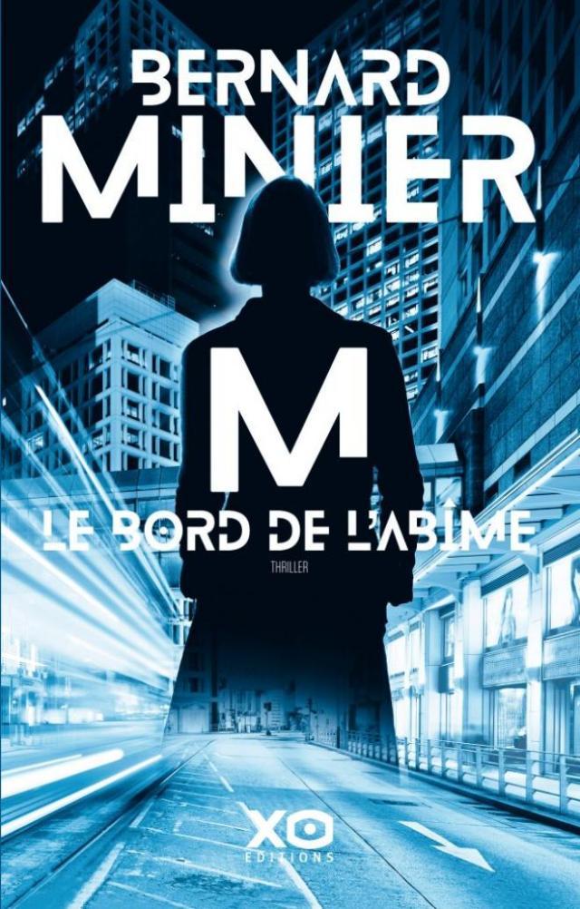 Couverture de M, Le bord de l'abîme, Bernard Minier