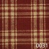 Red Tea Dyed Catawba Check Plaid Homespun Fabric