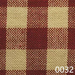 Red-Tea-Dyed-Small-Check-Plaid-Homespun-Fabric-0032