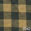Green Tea Dyed Small Check Plaid Homespun Fabric