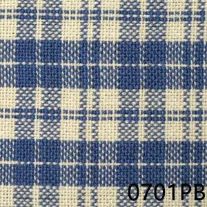 Prov Blue Cream Multipane Homespun Fabric