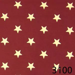 Red Star Homespun Fabric