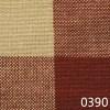 Red Tea Dyed Buffalo Check Plaid Homespun Fabric