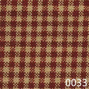 Red Tea Dyed Mini Check Plaid Homespun Fabric