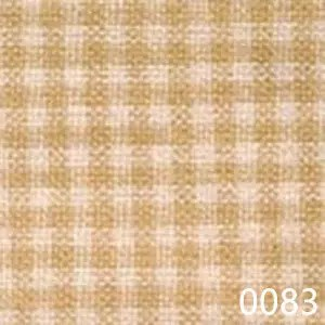 Wheat Cream Tea Dyed Mini Check Plaid Homespun Fabric