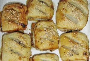 Honey and Mustard Sausage Rolls