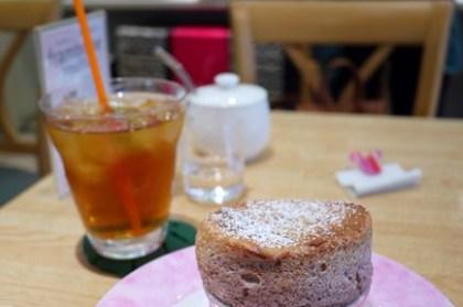 [花見] 大阪梅田 – Cafe Raffine 舒芙蕾專賣店