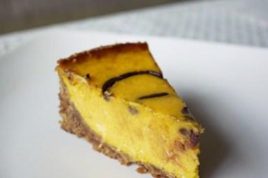[糕點] 南瓜乳酪派 pumpkin cheese pie