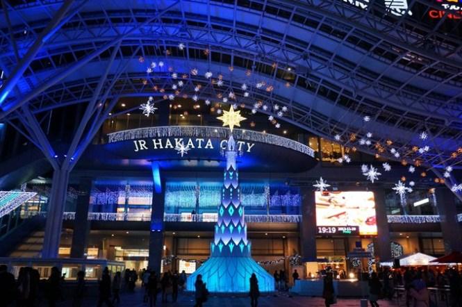 [福岡] JR博多City 光の街・博多 冬季點燈