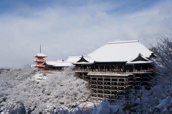 [京都] 可遇不可求 夢幻雪化妝 清水寺