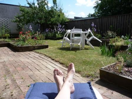 Min sommarträdgård