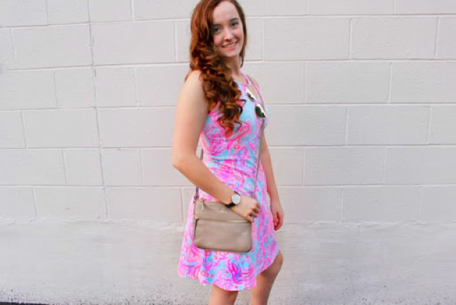 Lilly Pulitzer Dress in Birmingham Michigan