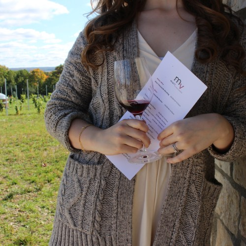 Wine Tasting at Mari's Vineyard in Traverse City, MI