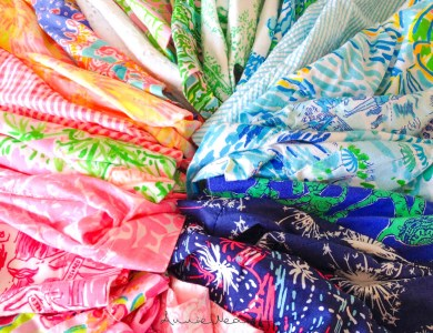 My Lilly Pulitzer Shorts Collection Pt 1