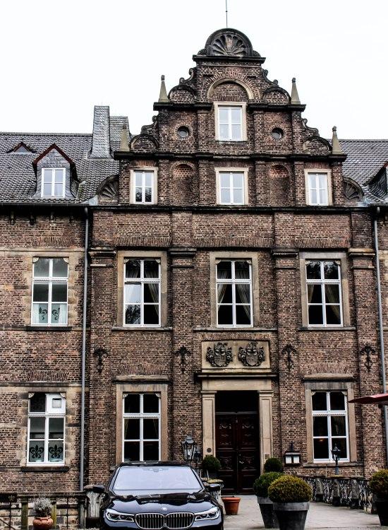 SchlossHotel HugenPoet Luxury Hotel in Essen, Germany Castle Hotel Western Europe Photographed by Annie Fairfax