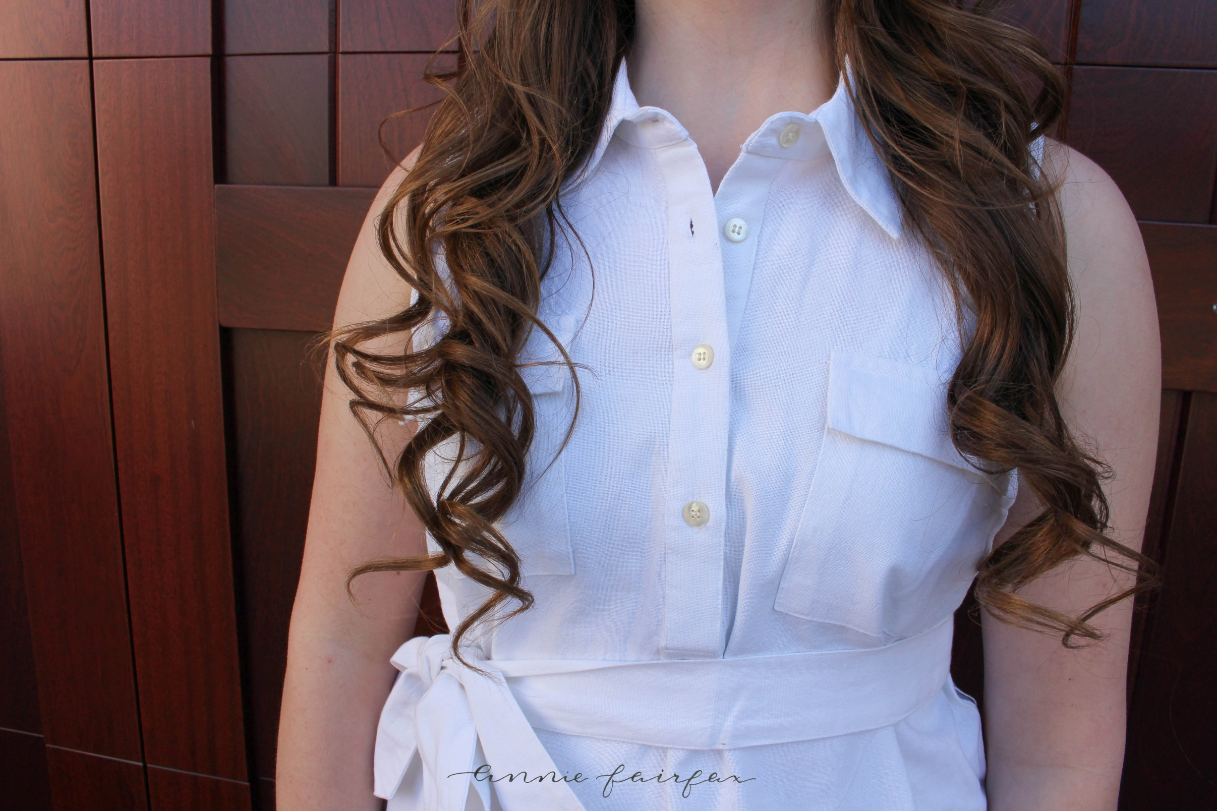 White Shirt Dress Annie Fairfax Oxford Business Casual Spring Summer Whites Initiation Dress Preppy Casual