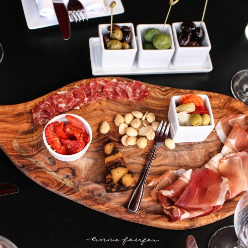 Charcuterie Board from Prost in Frankenmuth, MI