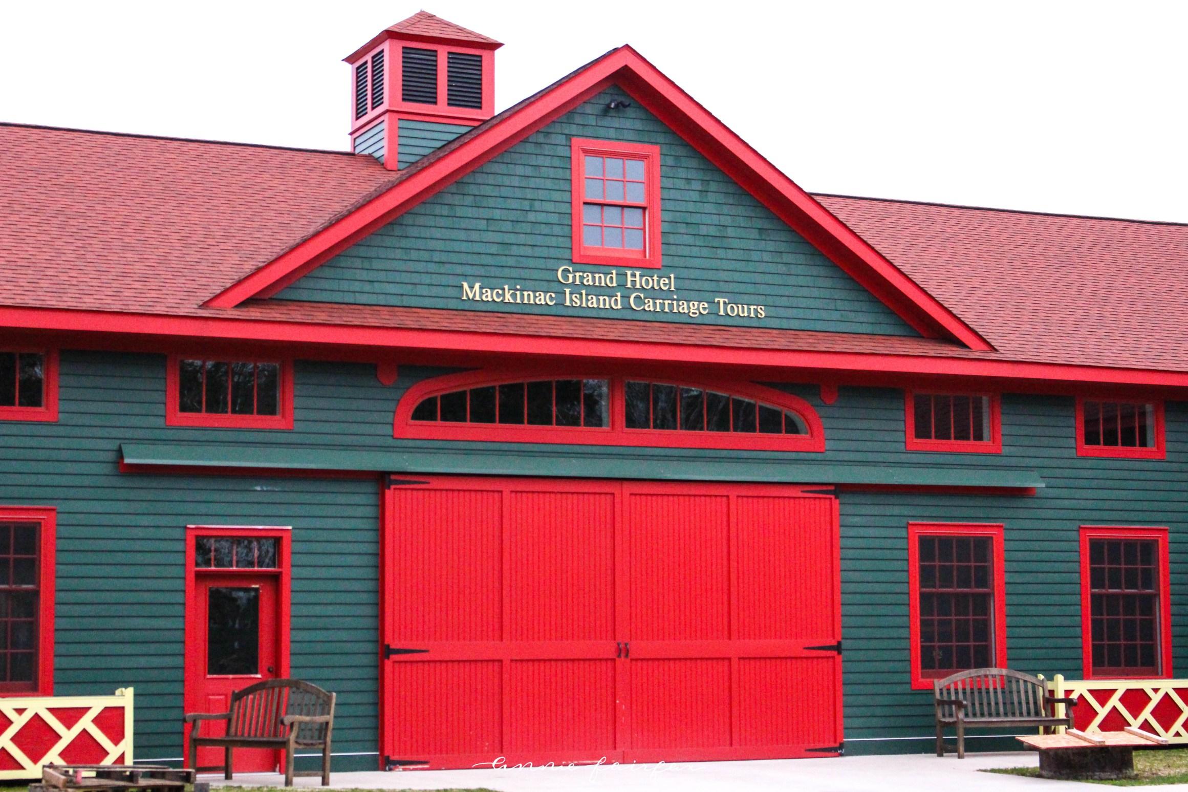 Grand Hotel Carriage Tours Mackinac Island Horses