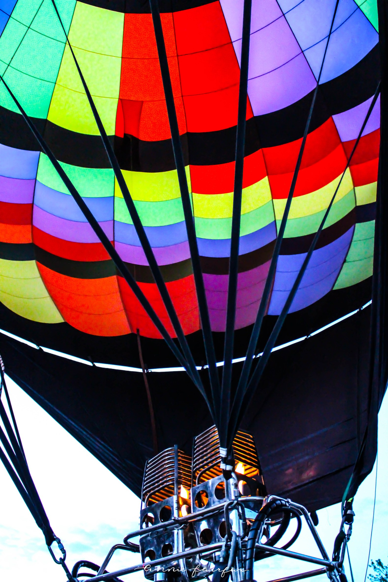 Hot Air Balloons Balloons Over Bavaria