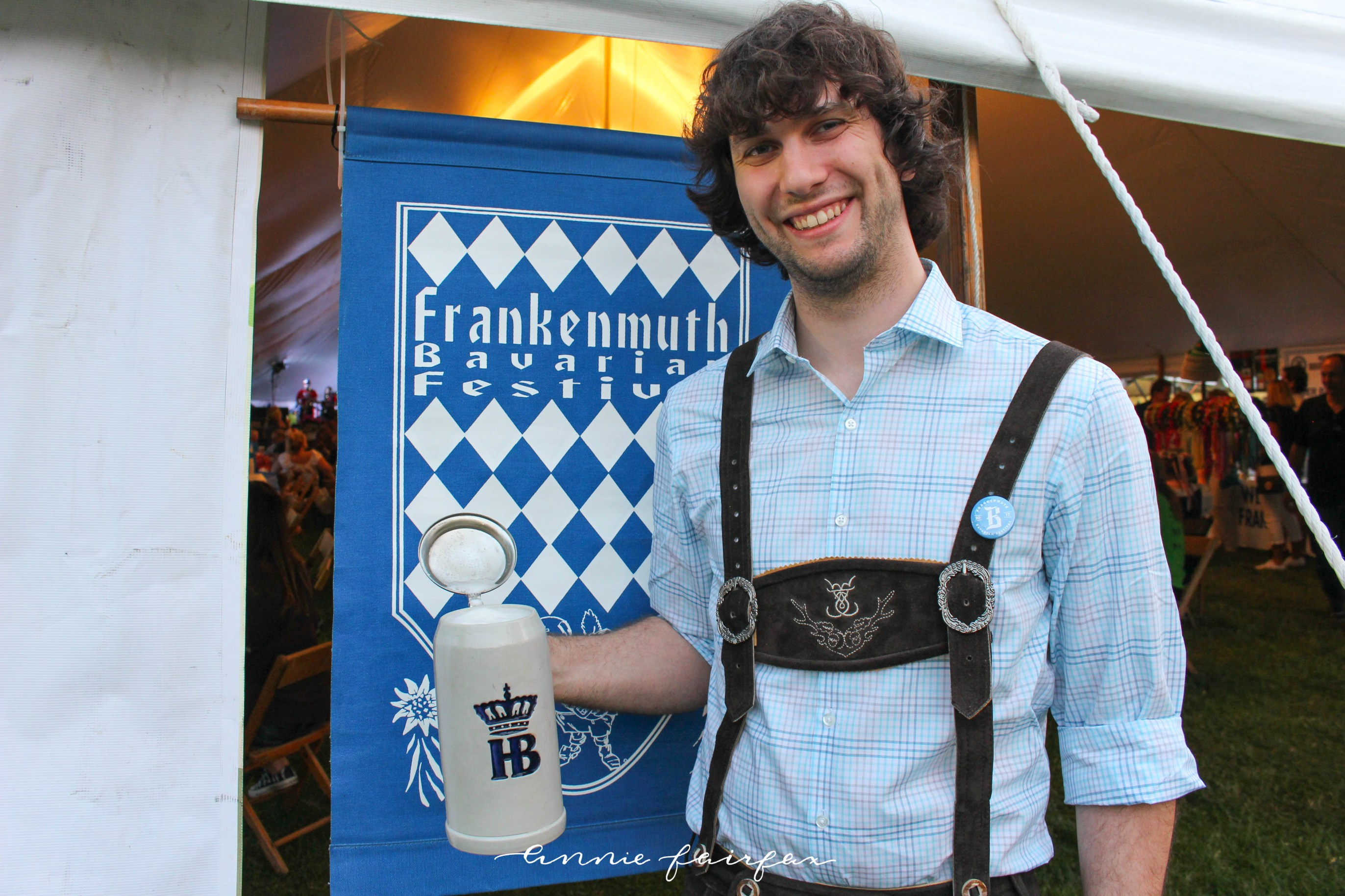 Frankenmuth Bavarian Festival Michigan Tourism German Lederhosen Dirndl Dress