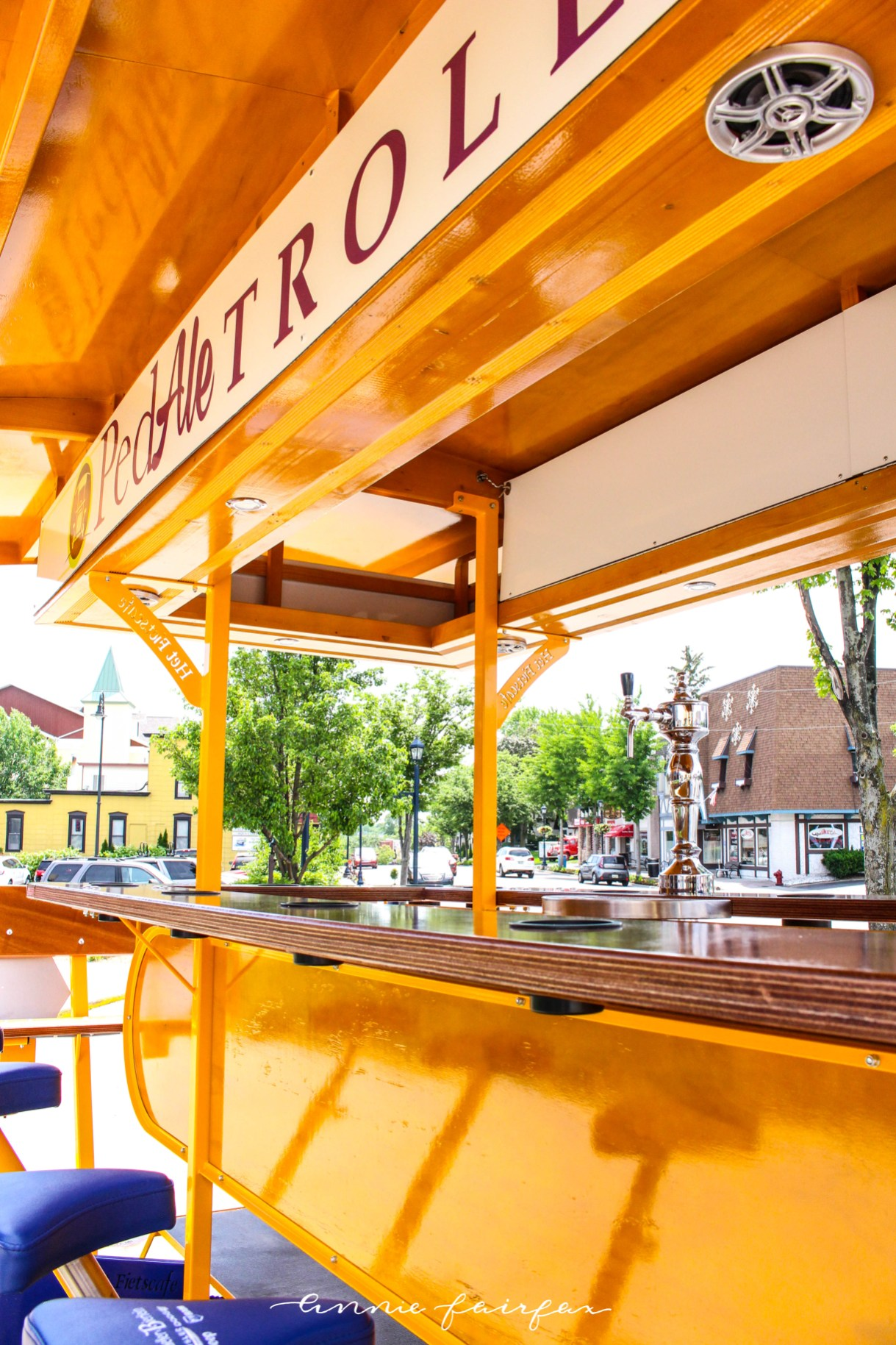 PedAle Drinking Bike Tour Frankenmuth Brewery Prost