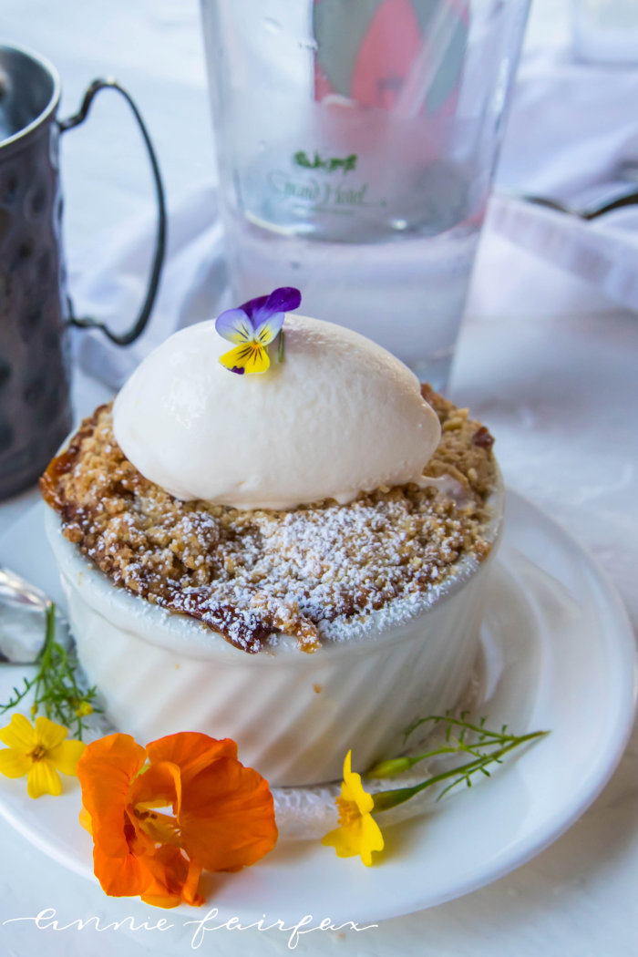 What to Eat at Grand Hotel on Mackinac Island, MI