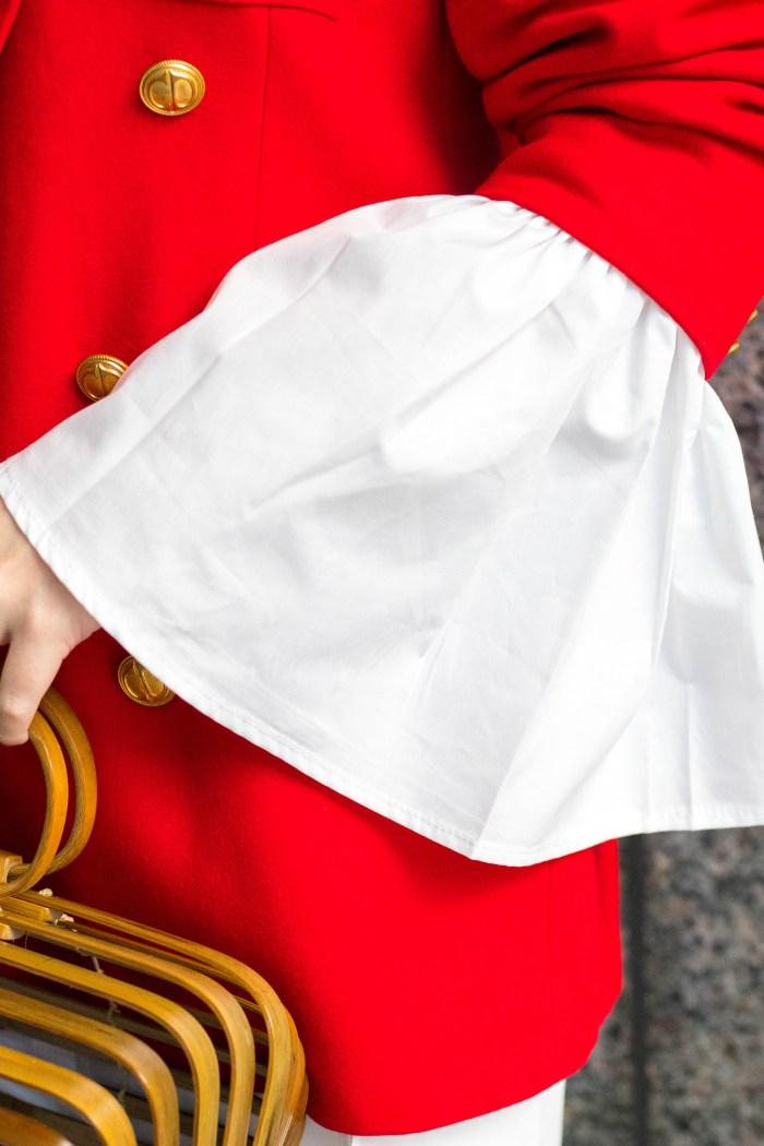 Red Christian Dior Blazer: A Classic Fall Staple Piece