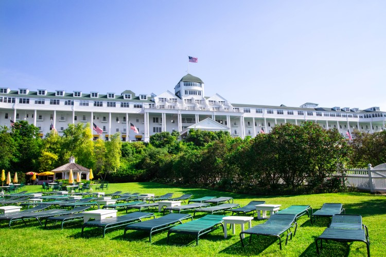A Photographic Tour of Grand Hotel on Mackinac Island, MI