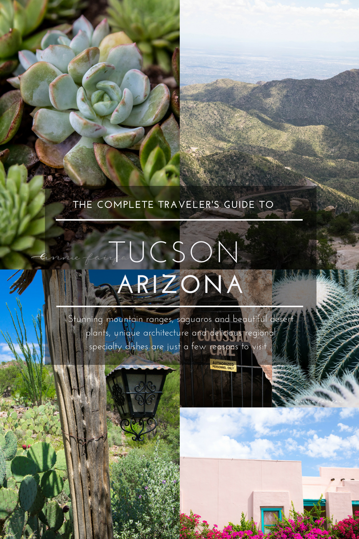 Complete Traveler's Guide to Tucson, Arizona Welcome Diner, Cacti, Succulents, Colossal Cave, Desert Adventures Unique Experiences