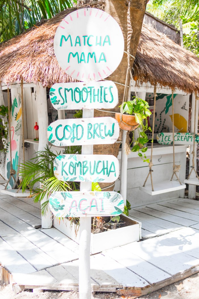 Matcha Mama Tulum Vegan Smoothies, Açai Bowls, Raw Juices & More