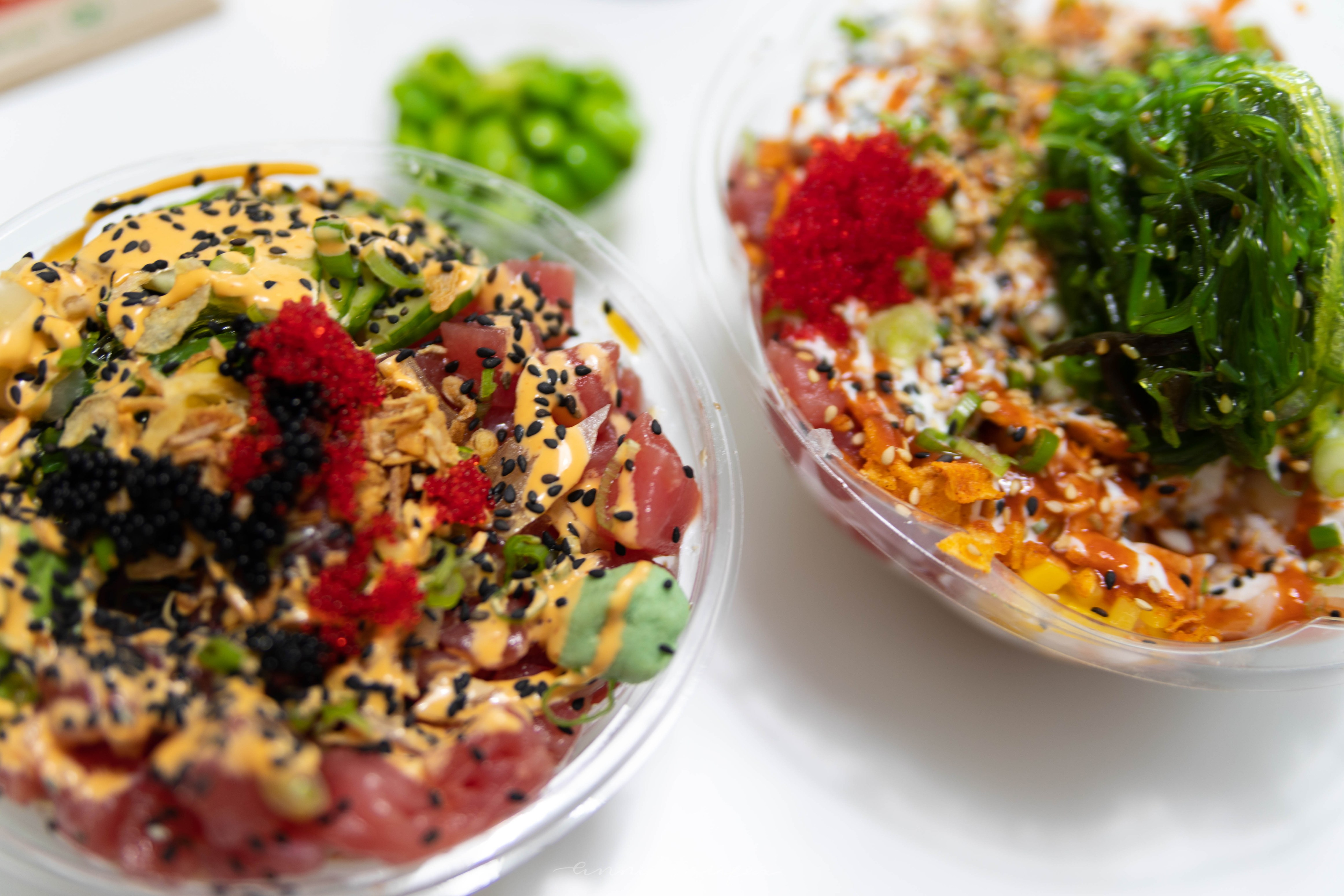 Wiki Wiki Poke Bowls Fresh Fish Japanese Fusion Grand Rapids, MI Best Places to eat in Grand Rapids Michigan